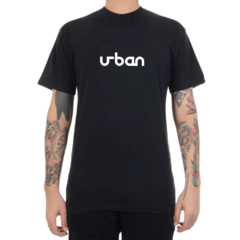 Camiseta Urban Collection Logo Classic - Preto (Masculina)
