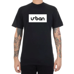 Camiseta Urban Collection Logo In Box - Preto (Masculina)