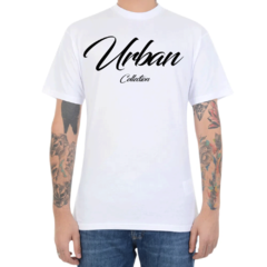 Camiseta Urban Collection Big Letters - Branco (Masculina)