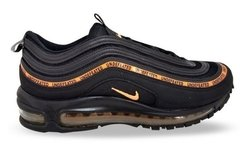 Tênis Nike Air Max 97 Undefeated X OFF Dark Black Orange (Masculino) na internet