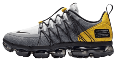 "Tênis Nike VaporMax Run Utility ""Cool Grey Yellow"" (Masculino)"