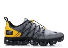"Tênis Nike VaporMax Run Utility ""Cool Grey Yellow"" (Masculino) na internet"