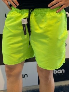 Shorts Moda Praia Level's Jeans - Verde Neon na internet