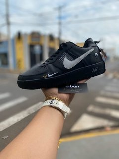 Tênis Nike Air Force 1  Low Utility Preto na internet