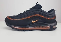 Tênis Nike Air Max 97 Undefeated X OFF Dark Black Orange (Masculino) - loja online