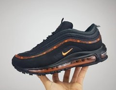 Tênis Nike Air Max 97 Undefeated X OFF Dark Black Orange (Masculino)
