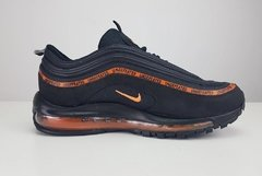 Tênis Nike Air Max 97 Undefeated X OFF Dark Black Orange (Masculino) - comprar online