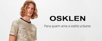 Camiseta Osklen Brasão - Preto Vintage