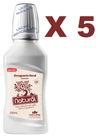 5 ENXAGUANTE BUCAL 250ML CAFE/CACAU/GUARANA ORGANICO NATURAL