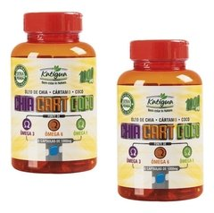 2 Chia Cart Coco 1000mg 60cps Katigua