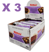 3 BARRA CEREAL LIGHT BROWNIE CHOC 25G 24UN RITTER