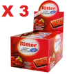 3 BARRA CEREAL LIGHT MOR/CHOC 25G 24UN RITTER