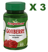 3 GOJIBERRY 60 CAPSULAS 500MG Semprebom