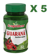 5 GUARANA 90 CAPSULAS 500MG Semprebom