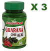 3 GUARANA COM ACAI 220 G Semprebom