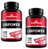 2 LIBPOWER 120 CAPSULAS 550MG Semprebom