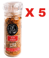 5 MIX BARBECUE C/ MOEDOR 80G BR SPICES