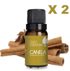 2 OLEO ESSENCIAL 10ML CANELA DERMA CLEAN