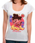 Camiseta Collect Them All BRANCA - Feminina