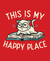 Camiseta This is My Happy Place - Masculina