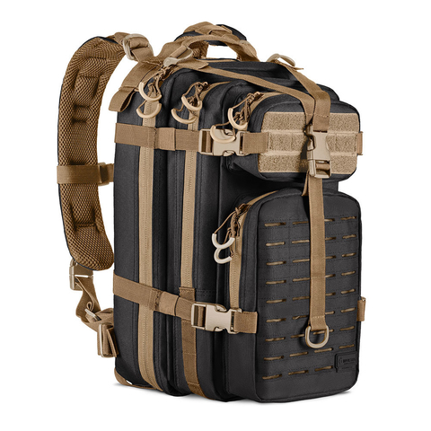 Mochila Assault LC Invictus - Preto/Coyote