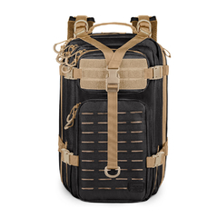 Mochila Assault LC Invictus - Preto/Coyote na internet