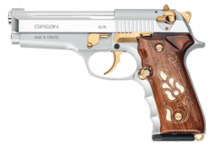 PISTOLA CALIBRE  9x19 mm GIRSAN COMPACT MC  WHITE GOLD PIECED