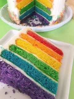 Bolo Rainbow Cake - Pink Online
