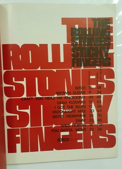 STICKY FINGERS. THE ROLLING STONES. ALBUM. - comprar online