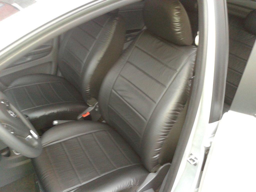 Fundas para asientos gris delantero ele VW Fox