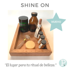 Shine On - Organizador Sustentable - Rutina De Belleza