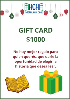 Gift Card $ 1.000.-