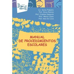 Manual de procedimientos escolares