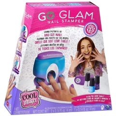 Kit para Unhas Esmalte Go Glam Nail Printer Value 2130 Sunny