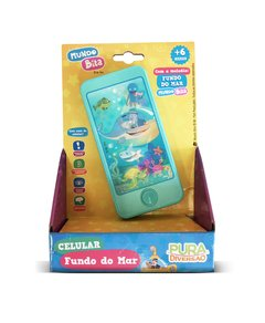 MUNDO BITA - CELULAR INFANTIL FUNDO DO MAR 20121 YES TOYS