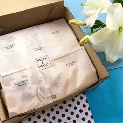Packaging repasador y delantal Dominga Home