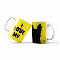 Caneca Boston I love my - Silhueta - comprar online
