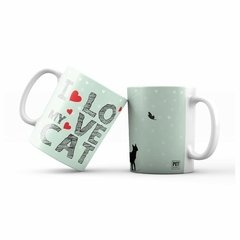 Caneca Gato - I love my Cat