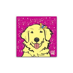 Placa Golden Retriever (Creme - Fêmea) Petquadros