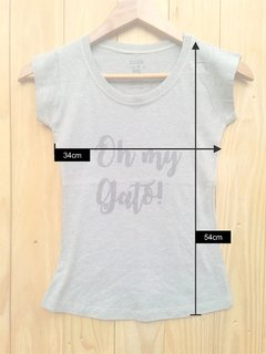 Camisa Baby look - OH my gato!  (Peça Unica) - comprar online