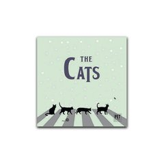 Placa The Cats  Petquadros