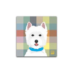 Placa West (Azul)  Petquadros