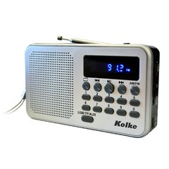 Radio AM/FM con Bateria Recargable Kolke