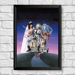 quadro beetlejuice fantasmas se divertem