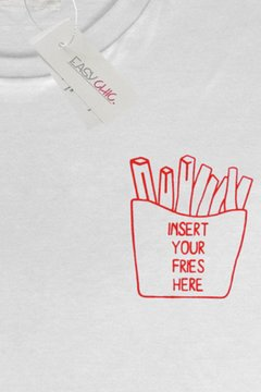 T-shirt Fries - comprar online