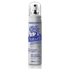 Desodorante Spray Natural de Pepino e Chá Verde - 120ml