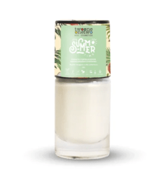 Esmalte Hipoalergênico Summer Time White Shimmer Twoone Onetwo - 10ml