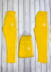 Jogging retro Adidas amarillo