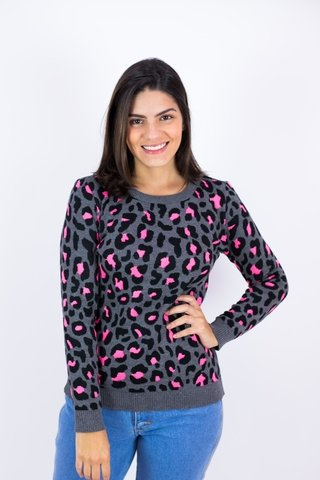 Tricot animal print Lily