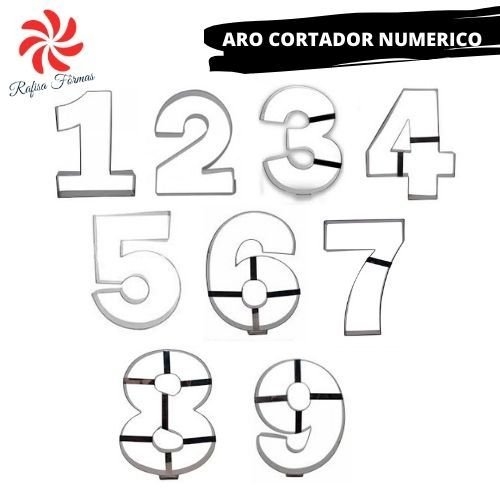 NUMERIC RINGS - SINGLE (0 TO 9)